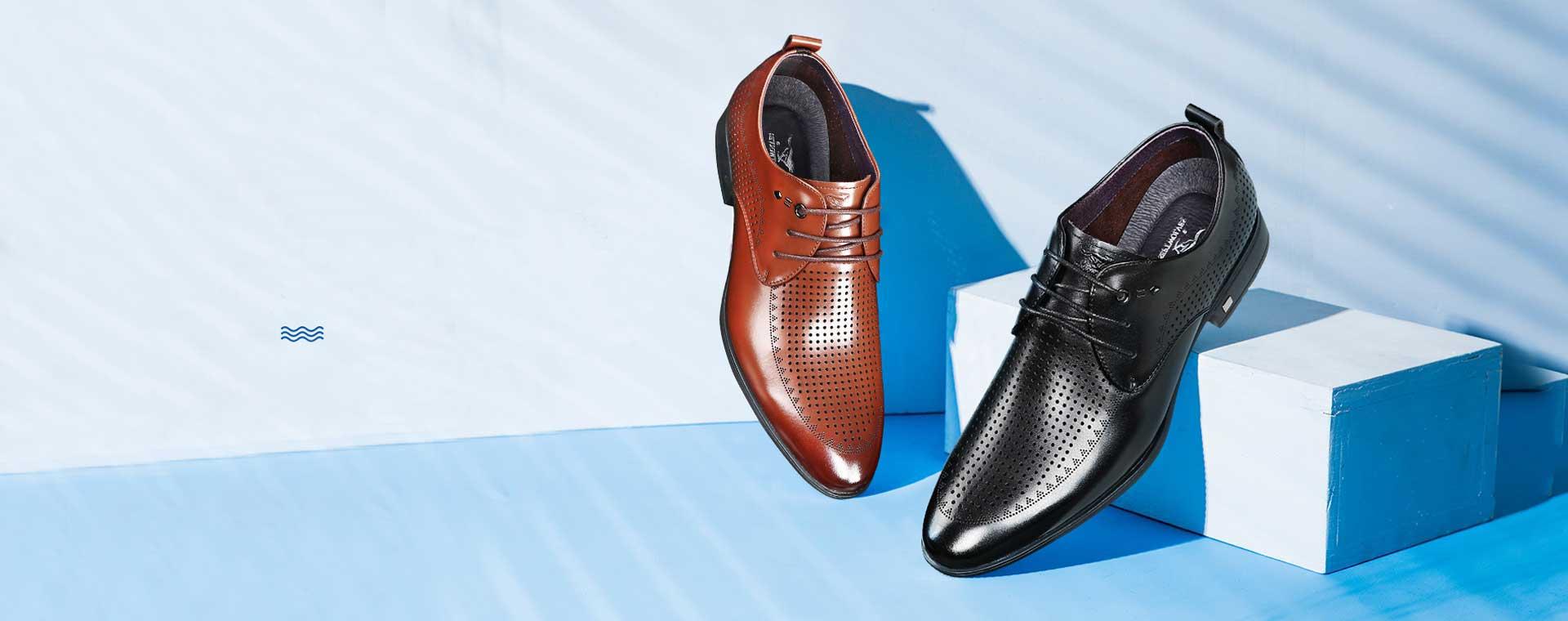 leren schoenen heren zwart